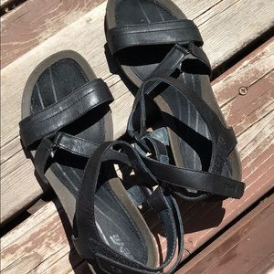 Teva Carrillo crossover wedge sandals